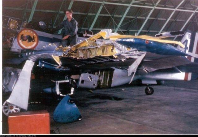 P 51 FAD acidente - P-51 Mustang operando com a Fuerza Aérea Dominicana