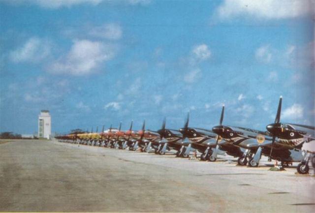 P 51 FAD - P-51 Mustang operando com a Fuerza Aérea Dominicana