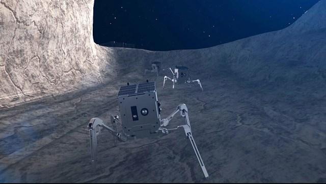spacebit lua aranha lunar - ESPAÇO: Aranhas-lunares