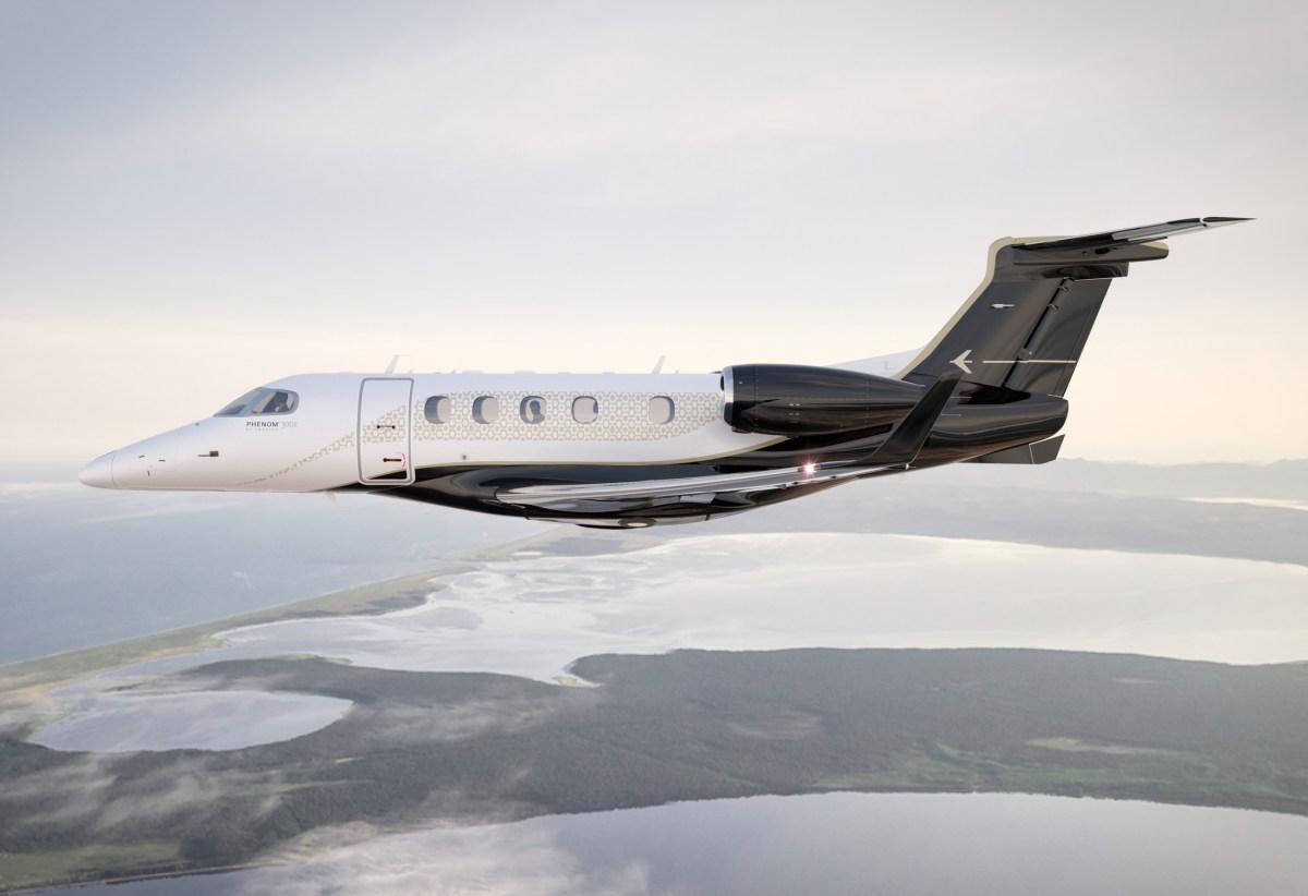 Embraer Phenom 300E é agora o mais veloz jato executivo single-pilot