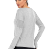 Long Sleeved Workout Top