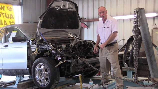 How Car Frame Straightening Works As Explained By Fresno