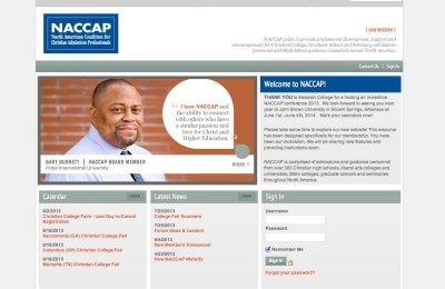 NACCAP Website