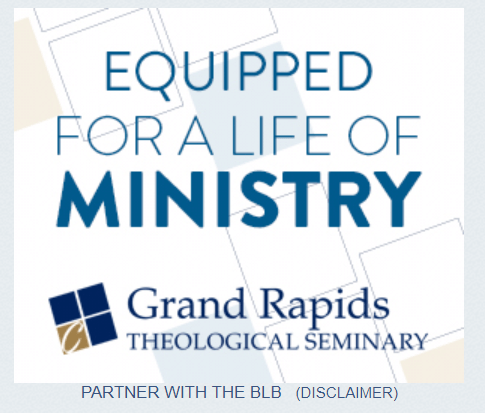 Enrollment marketing banner ads used on websites like Blue Letter Bible.