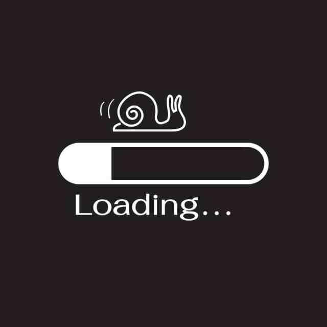 Slow loading enrollment websites aren't good.