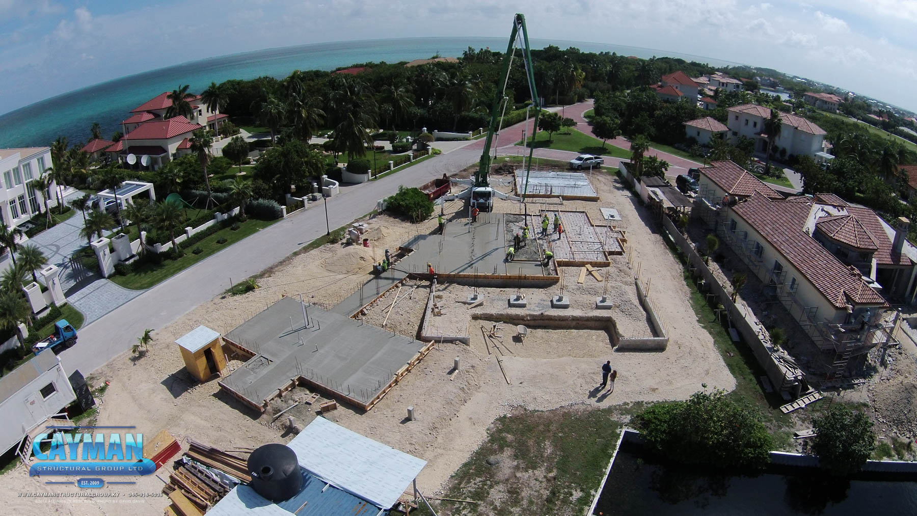 Cayman Structural Group New Home Construction In Vista Del Mar Cayman Structural Group