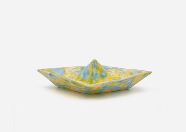 Barco. Azul|Amarillo. (M)