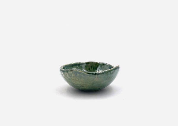 Bowl a Mano Liso. Viridian. (Xs)