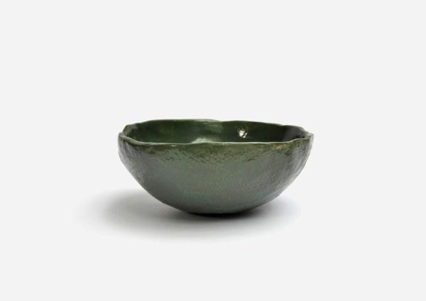 Bowl a Mano Liso. Verde Oscuro. (M)