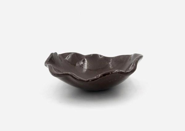 Bowl a Mano Irregular. Café Oscuro. (M)