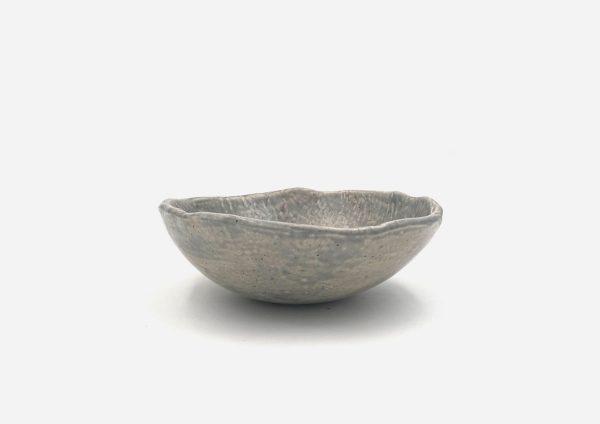 Bowl a Mano Liso. Gris Mate Chispas. (M)
