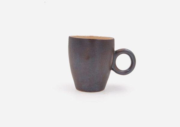 Taza Oh. Metalizado Café. (S)