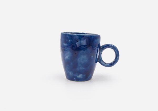 Taza Oh. Azul Cobalto. (S)