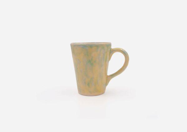 Mug Cono. Azul|Amarillo. (S)