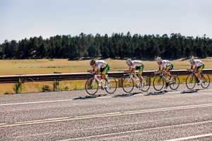 Australian cycling team training on Lake Mary Road outside Flagstaff , AZ. photo courtesy Hypo2 High Performance  Sport Center / Tom Brownold photography.