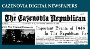 Cazenovia Digital Newspaper Button
