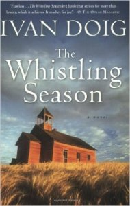Afternoon Open Book Club (The Whistling Season by Ivan Doig)