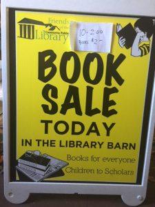 Barn Book Sale