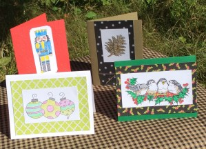 Christmas Card Workshop with Jeanette Robertson