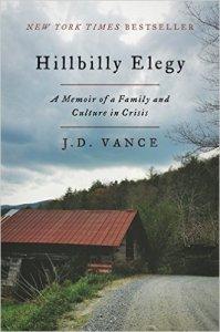 Evening Open Book Club : Hillbilly Elegy by J.D. Vance