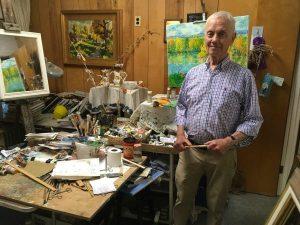Artist Reception: Roger Moore