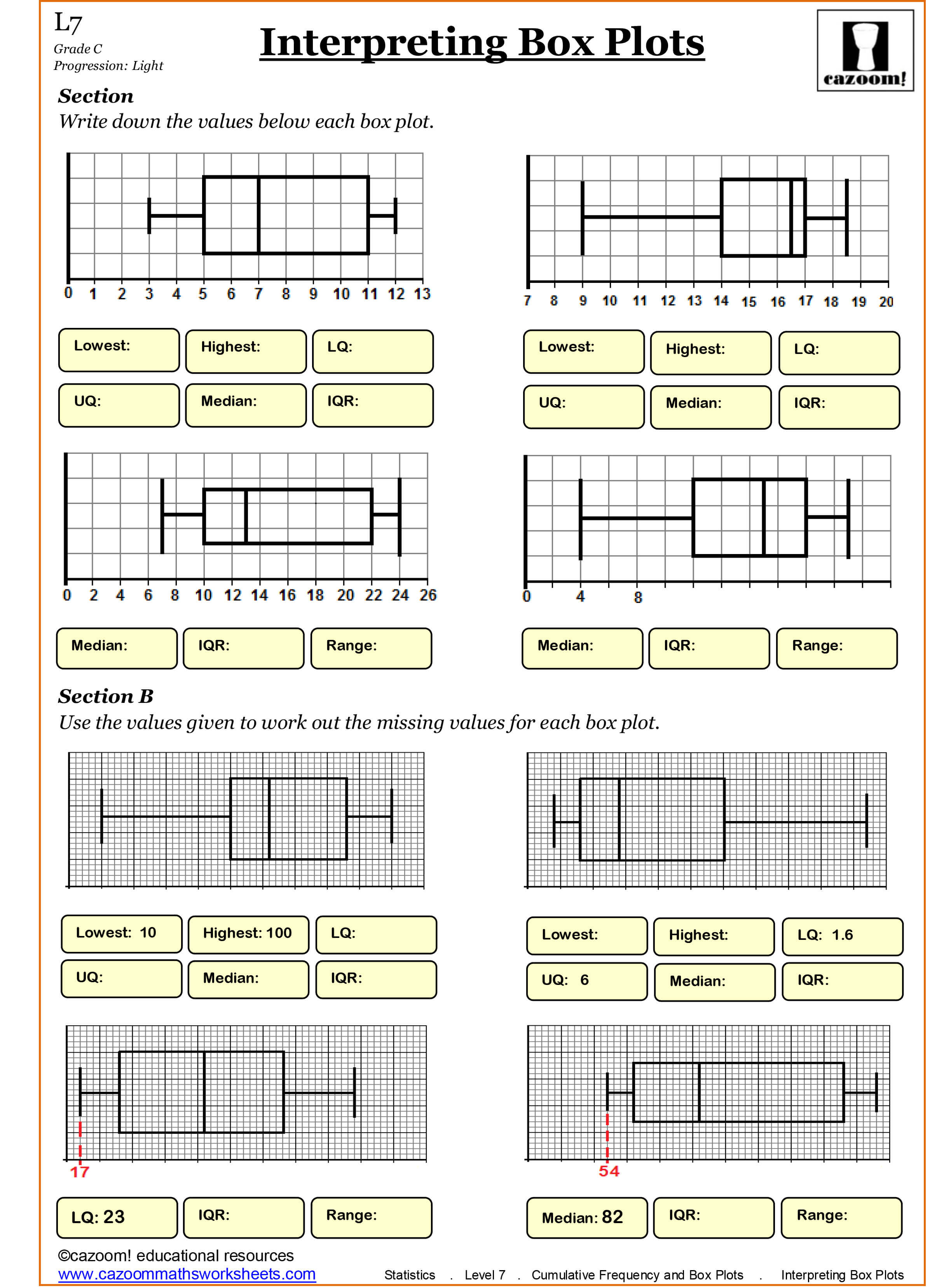 9 Number Bonds Worksheet