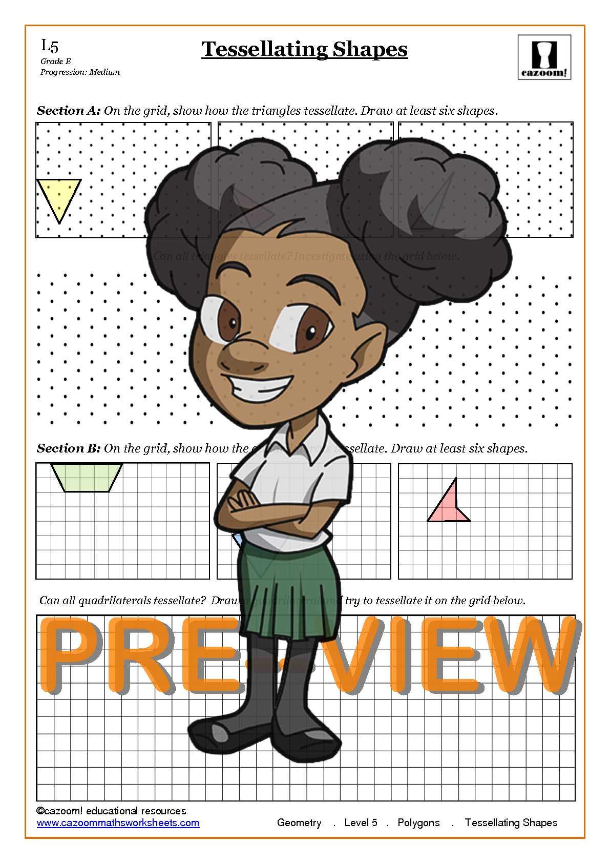 Year 7 Geometry Worksheets