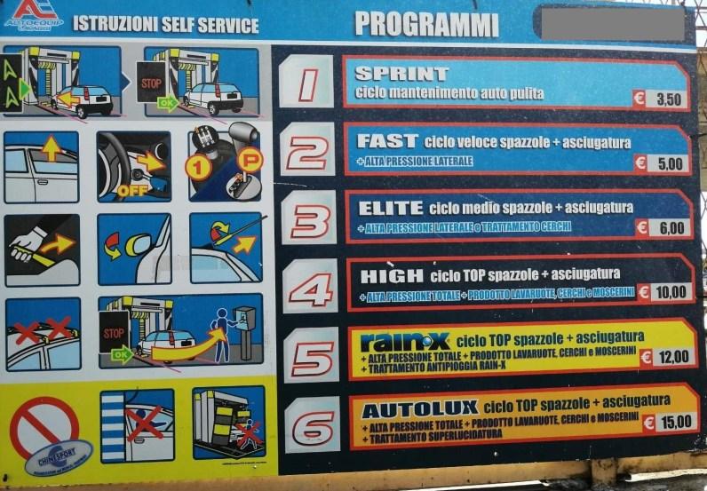 Autolavaggio Autoequip TK5