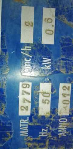 Depuratore Idroconsult WF 3/M