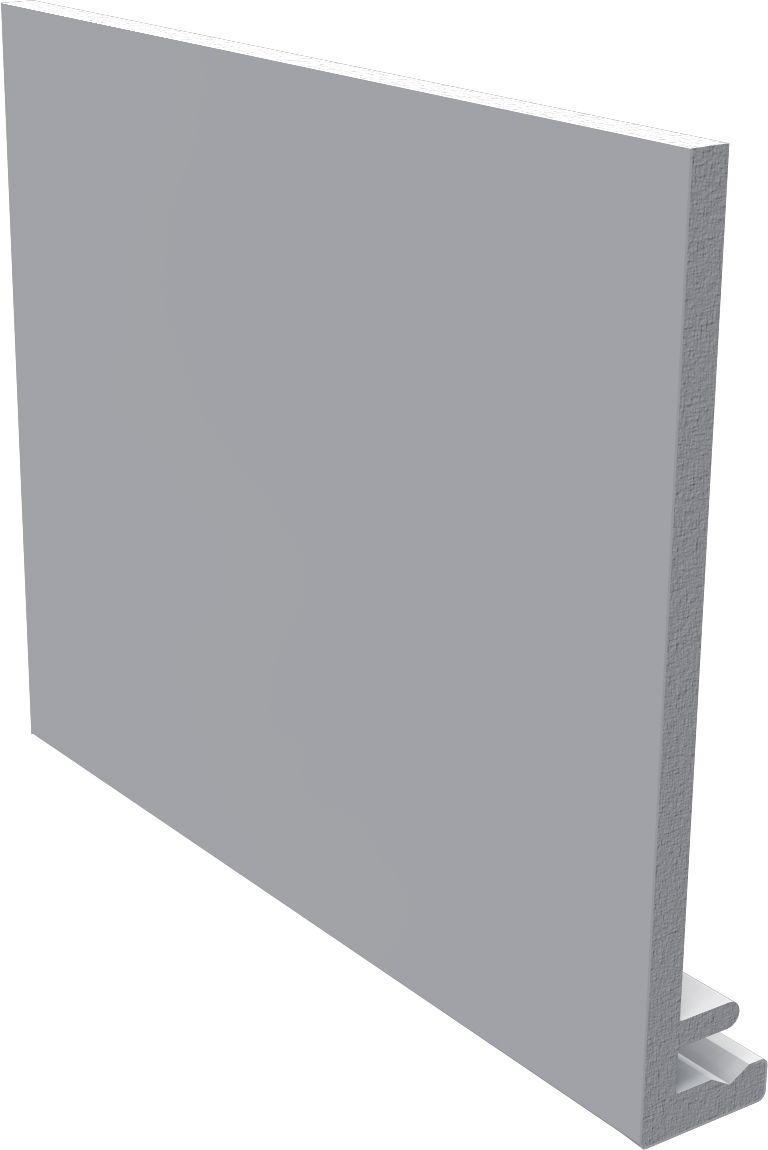 Bandeau De Rive Profil Equerre En F Classique Pvc Blanc 5000x200x9 Mm Freefoam Plastics