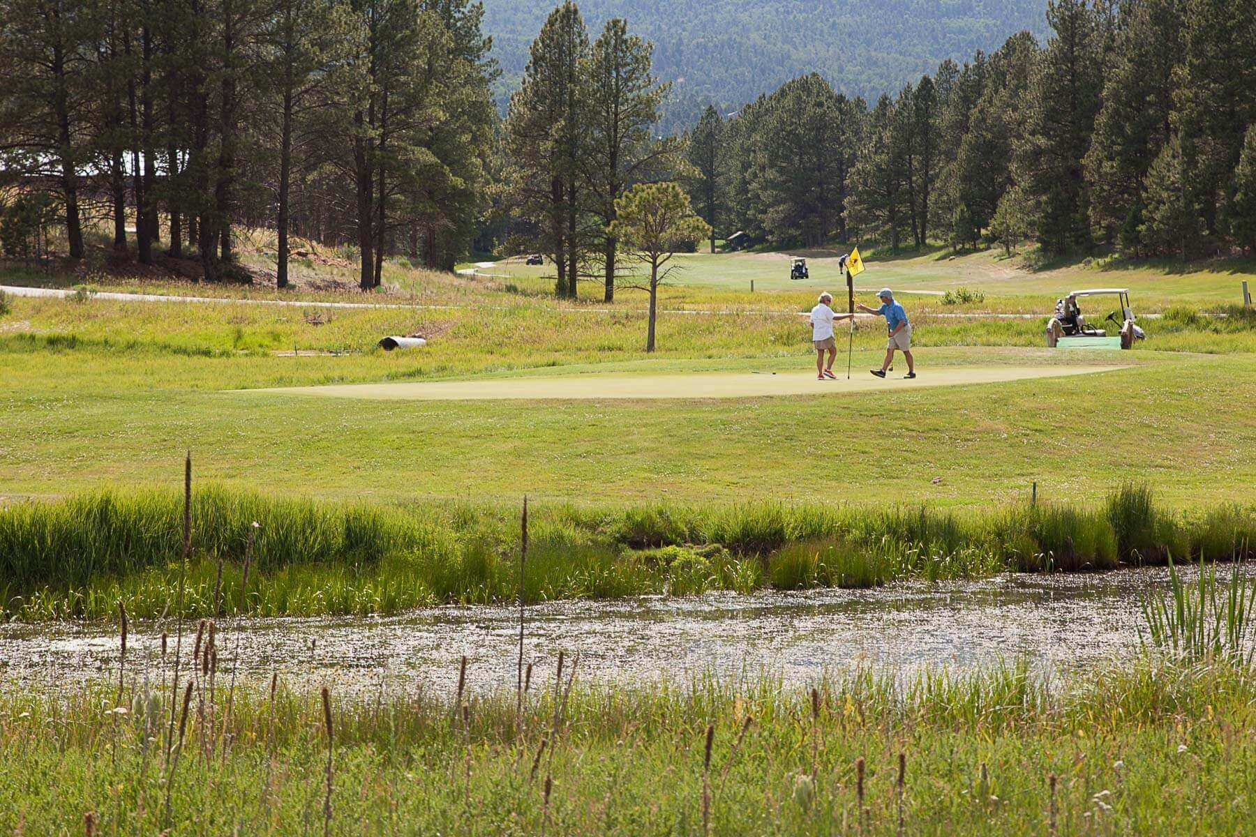 Angel Fire Real Estate on the Golf Course