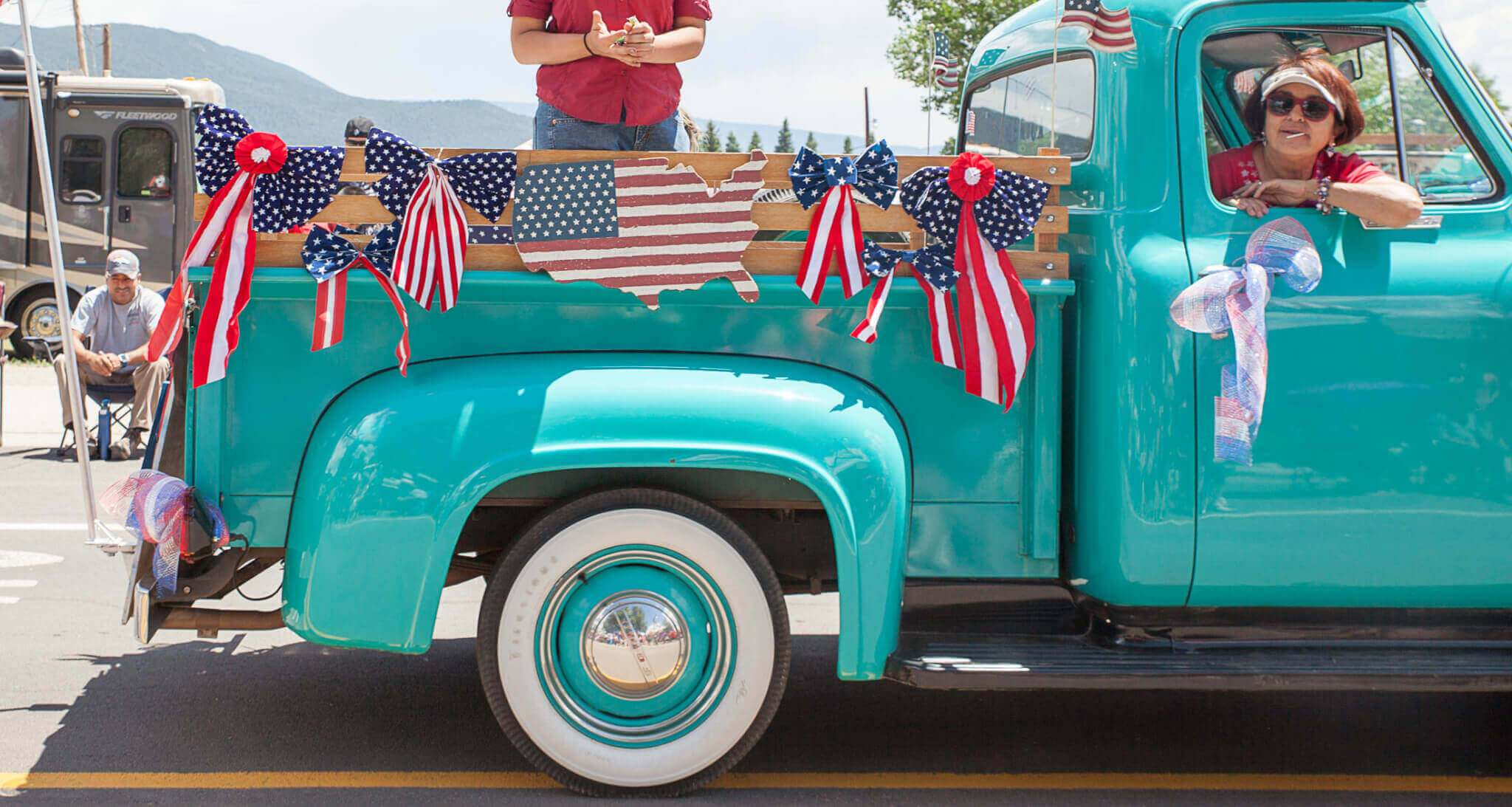 eagle nest NM 4th of july parade