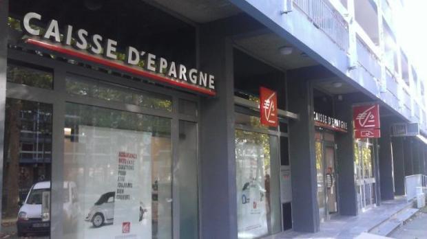 Agence Caisse d'Epargne à Rennes en 2015