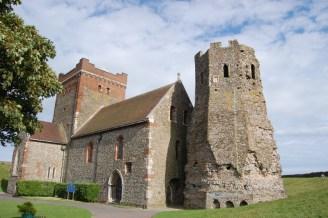 Dover Castle - Church and Pharos June 2011