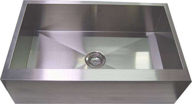 36 inch stainless steel single bowl