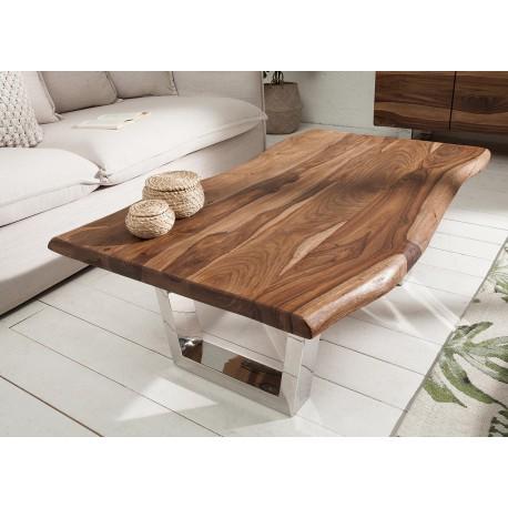 table basse rectangulaire bois sesham 110 cm cbc meubles