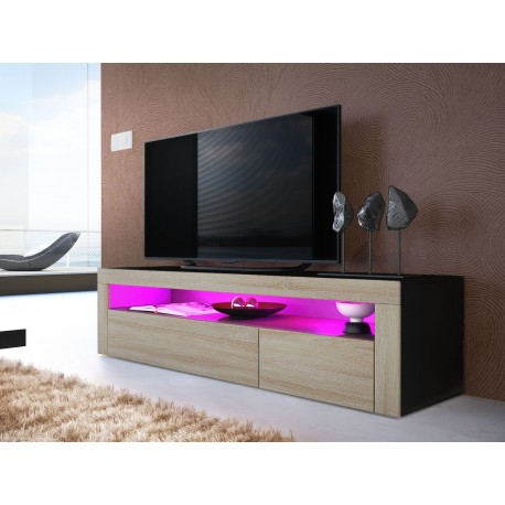 meuble tv bas design dylan