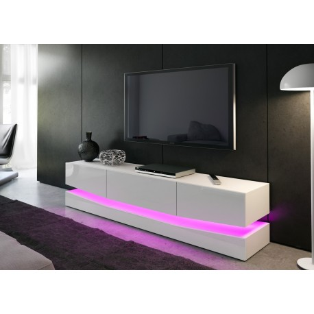 meuble tele bas design miami