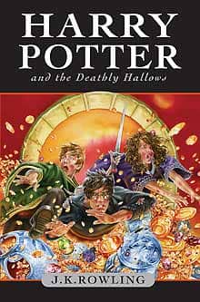 Buzz continues to build as the cover art for the final Harry Potter title was unveiled Wednesday. Harry Potter and the Deathly Hallows will be released July 21.