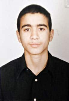 Omar Khadr is shown here at 15, not long before he was captured by U.S. forces in Afghanistan, in July 2002.