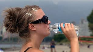 An estimated seven million plastic water bottles end up in Vancouver's landfill every year.