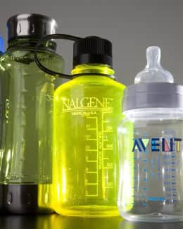 Health Canada has concluded that early development is sensitive to the effects of bisphenol A - a chemical used to make some hard plastic bottles.