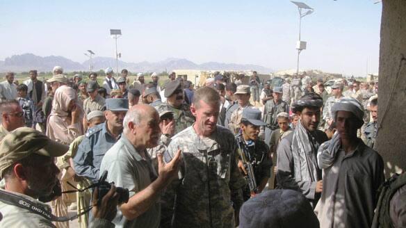General Stanley McChrystal Afghanistan
