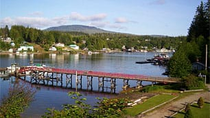 Bamfield, on the west coast of Vancouver Island, is home to the Bamfield Marine Sciences Centre, visited by hundreds of students every year.