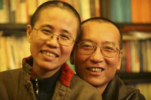 Chinese dissident Liu Xiaobo and his wife Liu Xia, from an undated family photo. (Reuters)