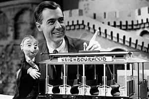 Mr. Rogers, a slow talker.