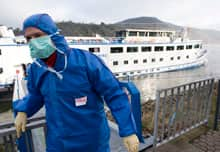 Norovirus has been transmitted with multiple sources on successive voyages of cruise ship.