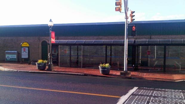 Bus stops in Moncton are empty Wednesday morning after city council decided to lock out Codiac Transpo workers.