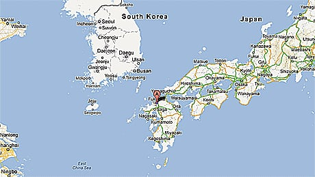 Fukuoka prefecture, Japan  Google Map