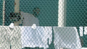 Khadr is seen in Guantanamo Bay's Camp 4, days before the 24-year-old Canadian was convicted of five war crimes and sentenced to eight more years.